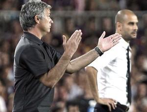josé mourinho real madrid guardiola barcelona (Foto: Agência Reuters)