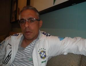 Eder Bastos, assistente da seleção sub-20 (Foto: Victor Canedo / Globoesporte.com)