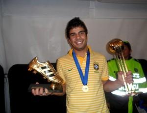henrique brasil final troféus mundial sub20 (Foto: Victor Canedo / Globoesporte.com)