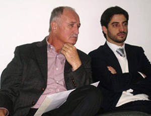 Felipão durante o julgamento do STJD (Foto: Divulgação / Site Justiça Desportiva)