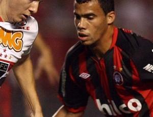 Fransérgio no jogo contra o São Paulo (Foto: Divulgação/Atlético-PR)