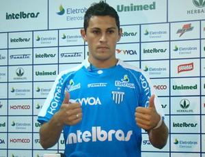 Romano é apresentado no Avaí (Foto: Divulgação)