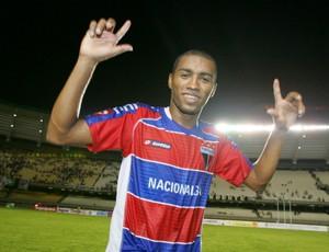 Guto, jogador do Fortaleza (Foto: Alex Costa / Agência Diário)