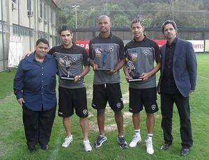 HOMENAGEM BOTAFOGO (Foto: Divulgação/Site Oficial Botafogo Futebol e Regatas)