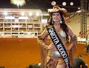 Rainha Eloiza Moreira na Festa do Peão de Barretos (Foto: Divulgação)