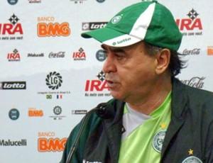 Marcelo Oliveira em coletiva de imprensa (Foto: Divulgação/Coritiba)