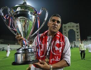 Silas, técnico do Al Arabi, do Qatar (Foto: Divulgação)
