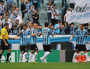 marquinhos grêmio gol internacional (Foto: Roberto Vinicius / Agência Estado)