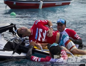 surfe Jordy Smith machucado Taiti (Foto: Kirstin Scholtz / ASP)
