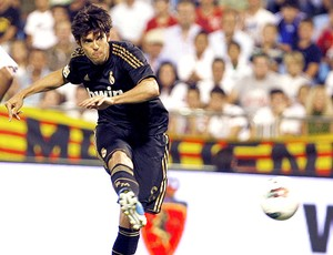 Kaká na partida do Real Madrid (Foto: EFE)