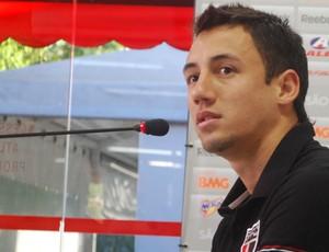 Iván Piris, do São Paulo (Foto: Marcos Guerra, Globoesporte.com)
