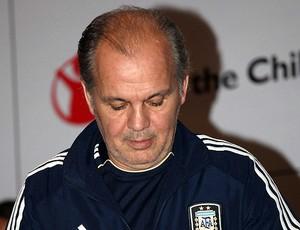 alejandro sabella técnico da argentina (Foto: Agência EFE)