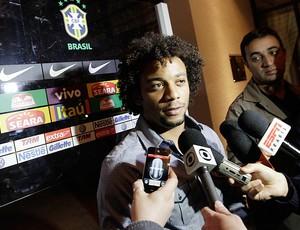 marcelo seleção brasileira londres (Foto: Mowa Press)