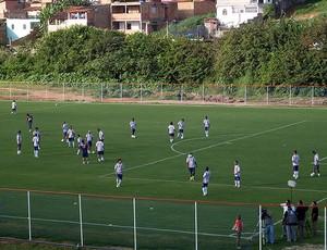 treino do bahia do fazendão (Foto: Eric Luis Carvalho/Globoesporte.com)