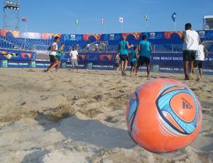 treino futebol de areia brasil (Foto: CBBS/divulgação)
