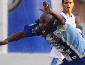 Marcelo Pelé, atacante do São Mateus (Foto: Cedoc/A Gazeta)