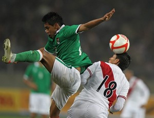 Peru 2 x 2 Bolívia, amistoso (Foto: EFE)