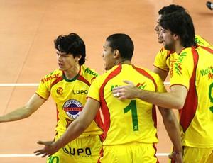 Blumenau campeão Liga Nacional (Foto: Alexandre Arruda / CBV)
