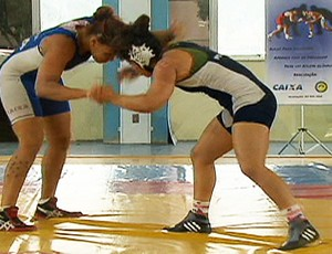 Brasil disputa Mundial de Luta Olímpica (Foto: Reprodução SporTV)