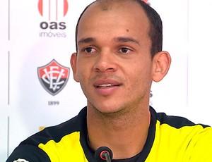 fernando leal goleiro do vitoria (Foto: Reprodução/TV Bahia)