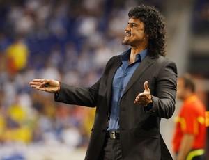 Leonel Alvarez, técnico da Colômbia (Foto: AFP)
