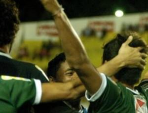 Icasa comemora gol pela Série B (Foto: Divulgação/Icasa)