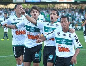 Marcos Aurelio gol Coritiba (Foto: Ag. Estado)