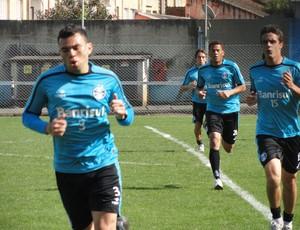 Treino do Grêmio (Foto: Eduardo Cecconi/Globoesporte.com)