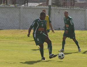 Luccas Claro e Jéci, zagueiros do Coritiba (Foto: Gabriel Hamilko / GloboEsporte.com)