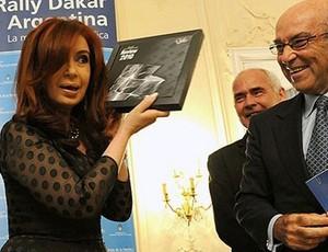 Cristina Kirchner, acordo com MotoGP (Foto: Divulgação/MotoGP)