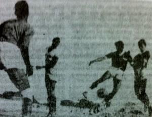 Primeiro gol do Estádio Presidente Vargas (Foto: Arquivo Pessoal/Airton Fontenele)