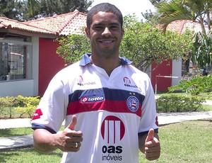 Reis é o novo atacante do Bahia (Foto: Divulgação)