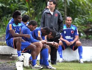 jogadores flamengo willians jael treino (Foto: Jorge William / Agência O Globo)