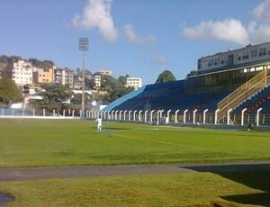 Estádio Justiniano de Melo e Silva, em Colatina (Foto: Arquivo Pessoal/Sebastian Morinigo)