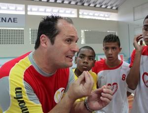 FABINHO_ORIENTA bernardinho futsal são paulo olimpiadas escolares (Foto: João Paulo Garschagen)
