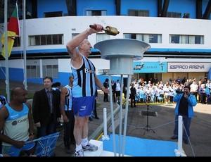 Grêmio comemora aniversário (Foto: Divulgação/Site oficial do Grêmio)