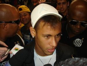 neymar desembarque seleção brasileira (Foto: Sergio Gandolphi/Globoesporte.com)