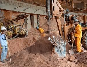 Obras no Mineirão (Foto: Divulgação)