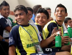 Time de handebol masculino da Ilha de Marajó disputa as Olimpíadas Escolares pela primeira vez (Foto: Wagner Carmo/COB)