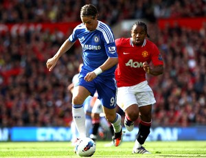 torres chelsea anderson manchester united (Foto: Agência Getty Images)