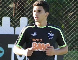 renan oliveira Atlético-MG (Foto: Tarcísio Badaró / Globoesporte.com)
