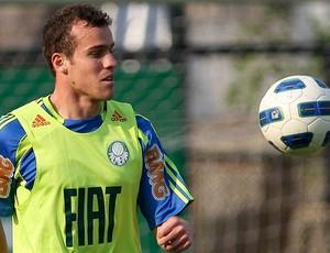 Chico no treino do Palmeiras (Foto: Cesar Greco/Agência Estado)