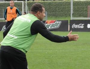Celso Roth, técnico do Grêmio (Foto: Eduardo Cecconi/Globoesporte.com)