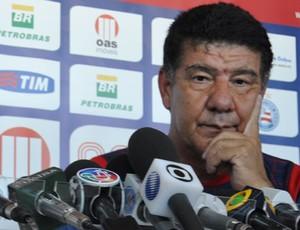 joel santana técnico do bahia (Foto: Eric Luis Carvalho/Globoesporte.com)