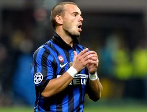 Sneijder internazionale de milão (Foto: Agência Getty Images)