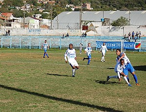 partida do Cruzeiro-RS na Série D (Foto: Mirela Putrich / Site Oficial do Cruzeiro-RS)