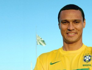 Emerson, do Coritiba com a camisa da Seleção Brasileira (Foto: Divulgação/Coritiba)