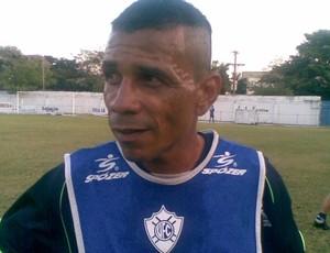 Meia Guga, novo reforço do Vitória-ES (Foto: Igor Gonçalves/Globoesporte.com)