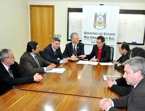 reunião da Prefeitura de Porto Alegre (Foto: Divulgação)