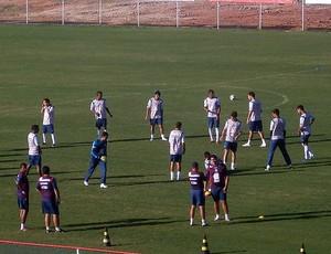 treino do bahia no fazendão (Foto: Eric Luis Carvalho/Globoesporte.com)